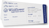 flower essence labels